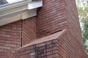 Bricks Popping Out of Chimney Atlanta GA