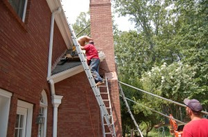 Marietta GA Repair Contractors for Failing or Leaning Chimneys