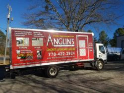 Anglin's Foundation Repairs Truck Southwest Marietta, GA
