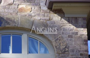 brick crack above a window repaired by anglin's team