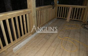 deck levelled by anglin's team