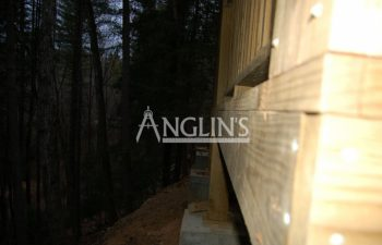 deck post repaired by anglin's team