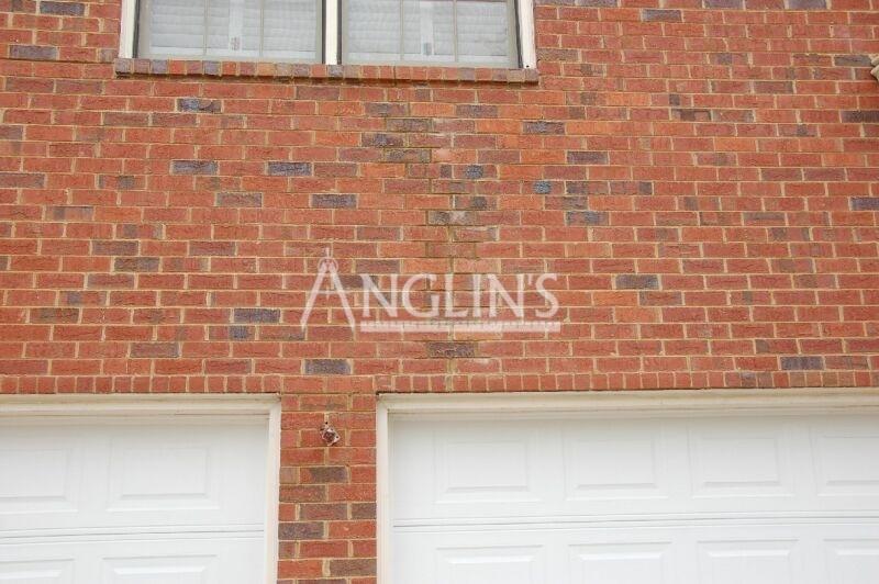 Garage Door Opening Repair Settling Cracking Bricks