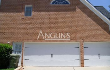 garage door and wall repaired by anglin's team