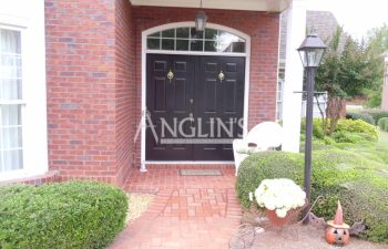 brick walk after repair done by anglin's team