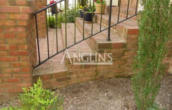 steps to a home after anglin repaired them