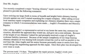 review written by anglin's customer