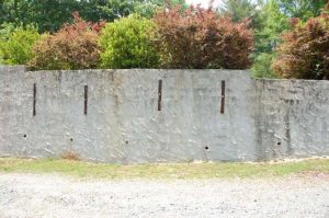 Concrete Wall with Tie Backs Atlanta GA