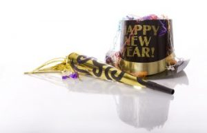 Happy New Year Hat and Party Blower
