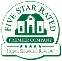 Five star rated badge